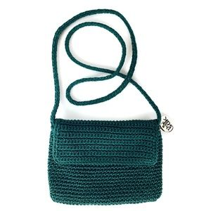 Green THE SAK Crossbody Bag Purse